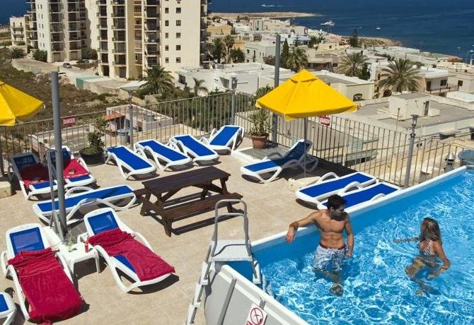 Qawra Point Holiday Complex apartments
