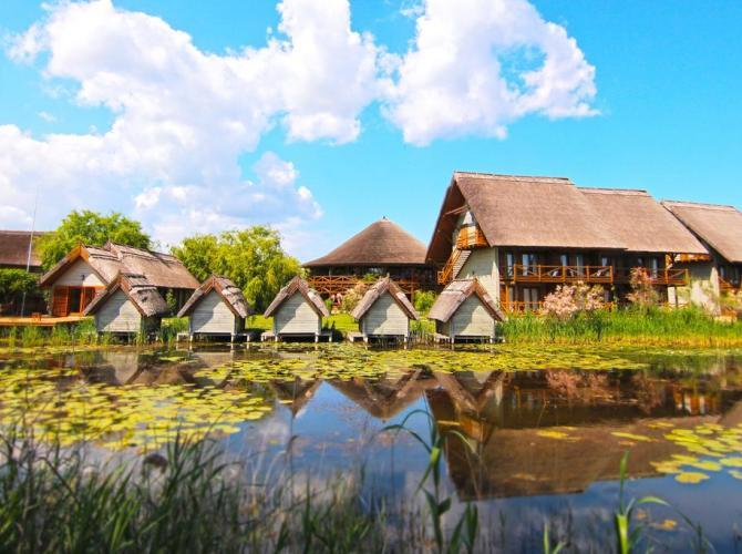 Complex Green Village