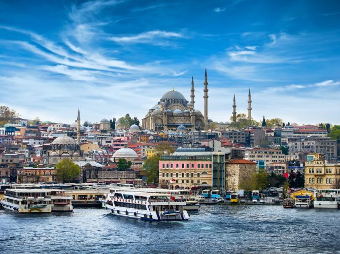 Istanbul, Troia, Pamukkale, Antalya