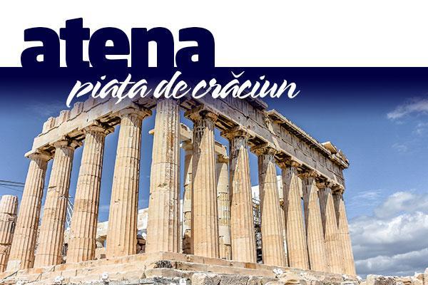 ATENA - PIATA DE CRACIUN 2020 IN CAPITALA MASLINILOR