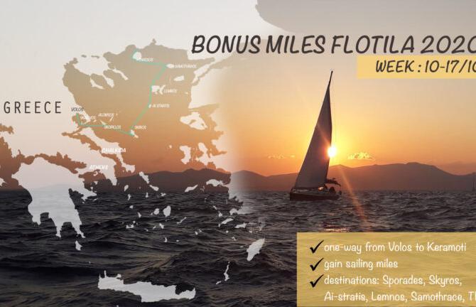 Croaziera Bonus Miles Flotilla