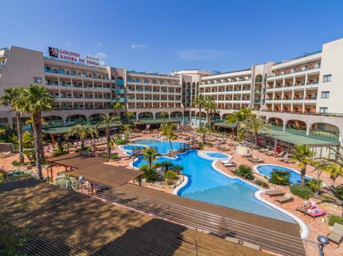 Hotel Golden Bahia de Tossa and Spa
